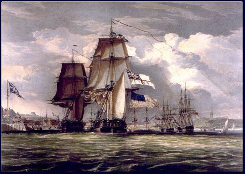 800px-John_Christian_Schetky,_H.M.S._Shannon_Leading_Her_Prize_the_American_Frigate_Chesapeake_into_Halifax_Harbour_(c._1830)[1]