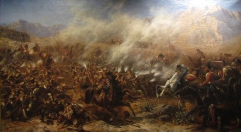 Battle of Garcia Hernandez - Adolf Northen