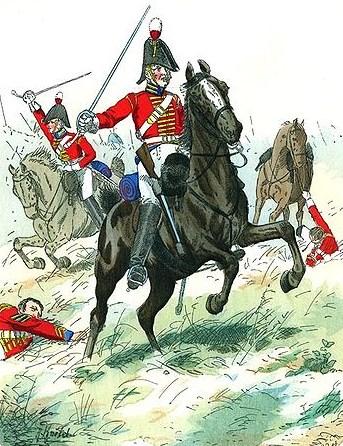 KGL Dragoon 1812